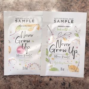Never Grow Up Samples